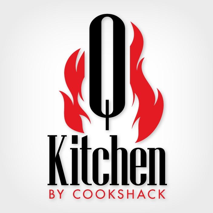 Q-Kitchen by Cookshack Logo Design Portfolio | Colored Bean ...