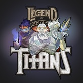 Legend of Titans Logo Design