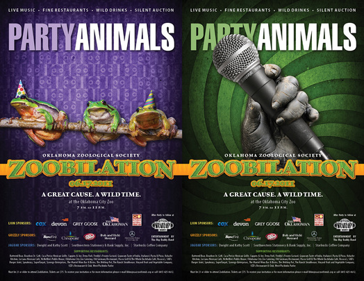 Zoobilation Party Animals Concept