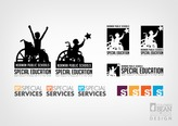 Early logo design concepts for Norman Public Schools Special Services