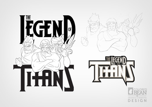 Legend of Titans Early Concepts and Sketch