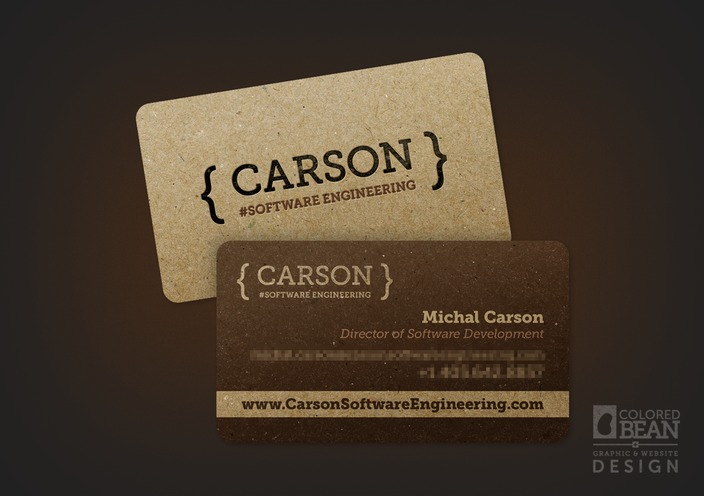 Carson Software Engineering Cards Portfolio Colored Bean Reheart Images