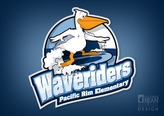 Revisiting the Waveriders logo and rebalancing the logotype size