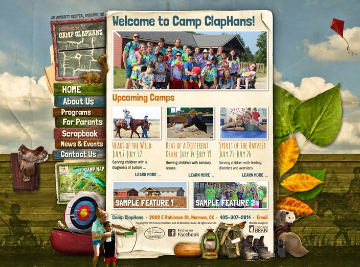 Camp ClapHans at J.D. McCarty Center